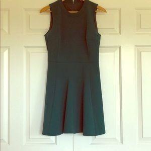 Madwell Green Skater Dress